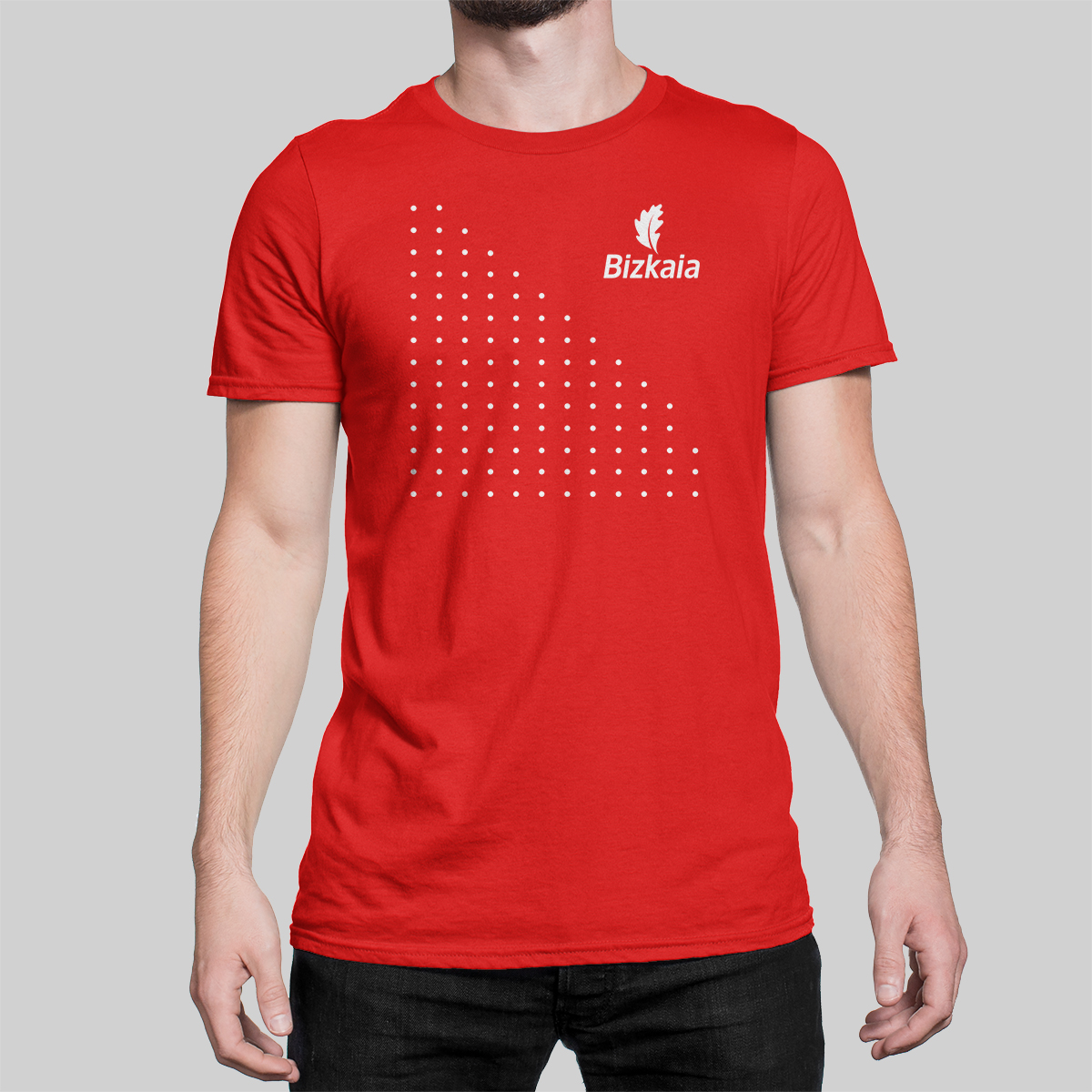 camiseta_puntos_roja
